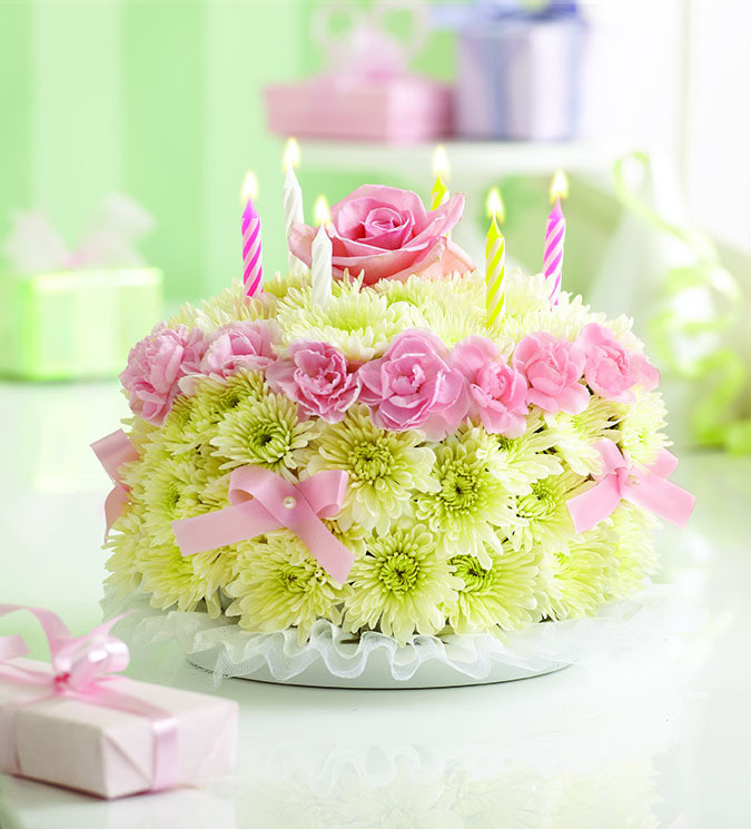 Best ideas about Happy Birthday Flowers And Cake . Save or Pin Happy Birthday Cake Richardson s Flowers Now.