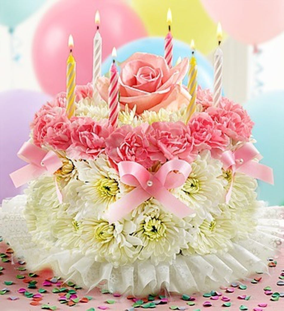 Best ideas about Happy Birthday Flowers And Cake . Save or Pin Wishing You a Special Birthday Floral Cake All The Fun Now.