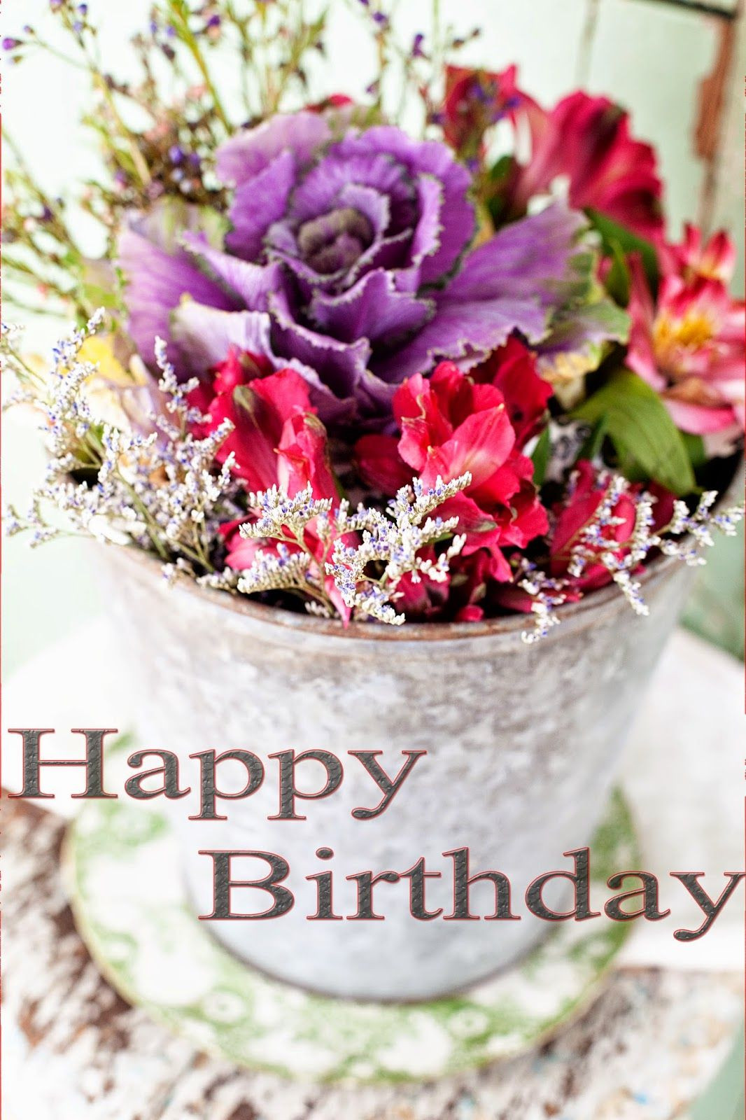 Best ideas about Happy Birthday Flowers And Cake . Save or Pin Happy birthday flowers images Now.