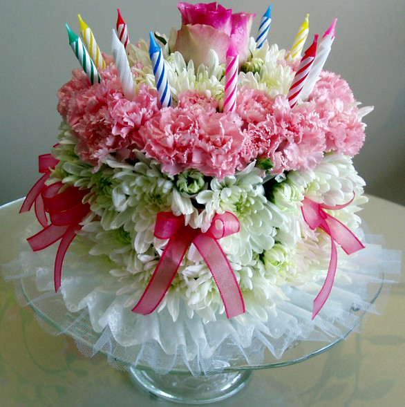 Best ideas about Happy Birthday Flowers And Cake . Save or Pin Happy Birth Day Now.