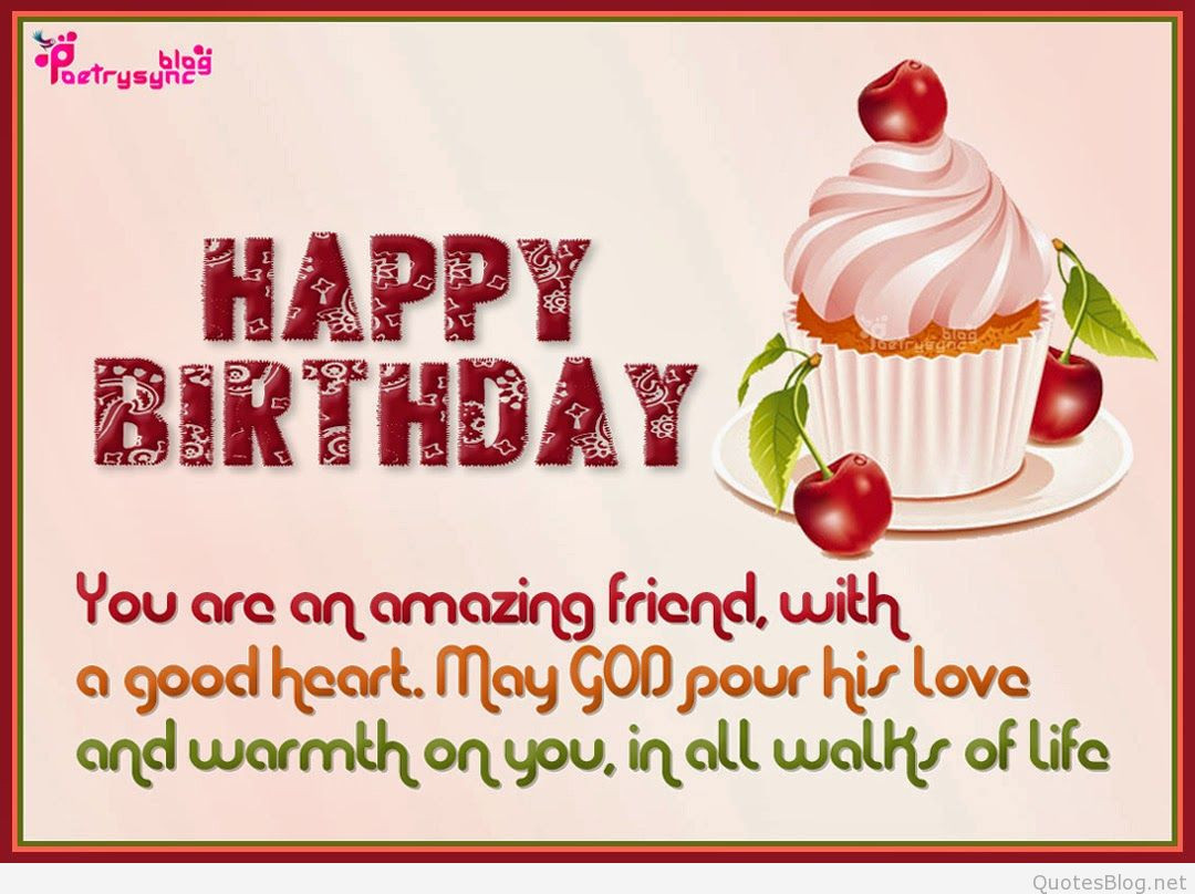 Best ideas about Happy Birthday Friend Wishes . Save or Pin The best happy birthday quotes in 2015 Now.