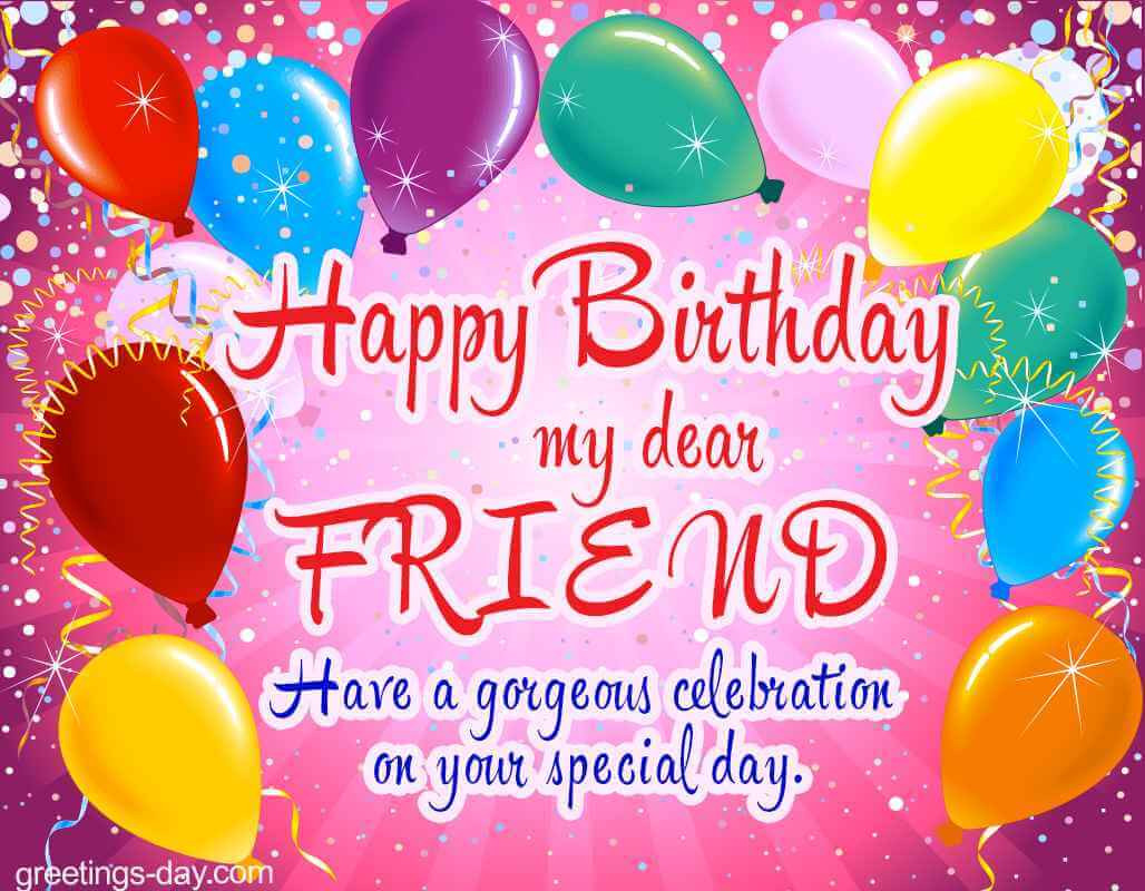 Best ideas about Happy Birthday Friend Wishes . Save or Pin Top 80 Happy Birthday Wishes Quotes Messages For Best Friend Now.