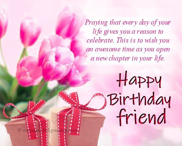 Best ideas about Happy Birthday Friend Wishes . Save or Pin Happy Birthday Wishes For Friends 365greetings Now.