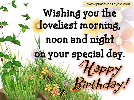 Best ideas about Happy Birthday Friend Wishes . Save or Pin Happy Birthday Wishes for a Friend Pink Lover Now.