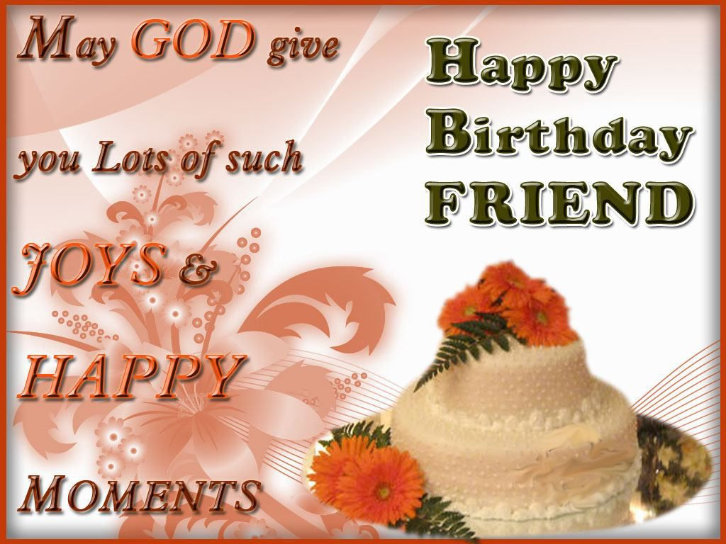 Best ideas about Happy Birthday Friend Wishes . Save or Pin greeting birthday wishes for a special friend This Blog Now.