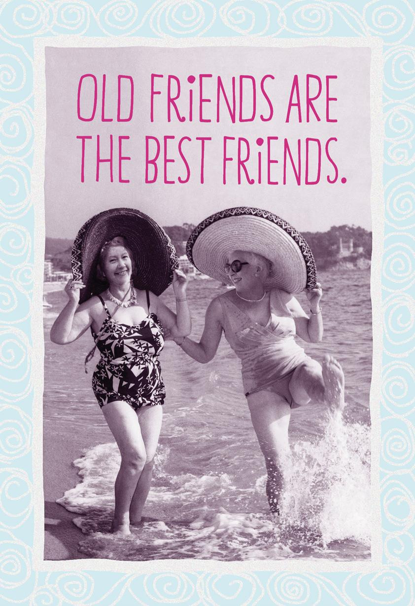 Best ideas about Happy Birthday Funny Friend . Save or Pin Old Friends Are the Best Friends Funny Birthday Card Now.
