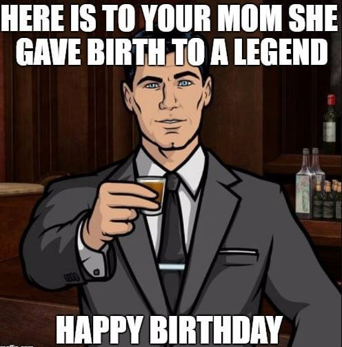 Best ideas about Happy Birthday Funny Meme For Guys . Save or Pin 75 Funniest Happy Birthday Memes For Friends and Family Now.