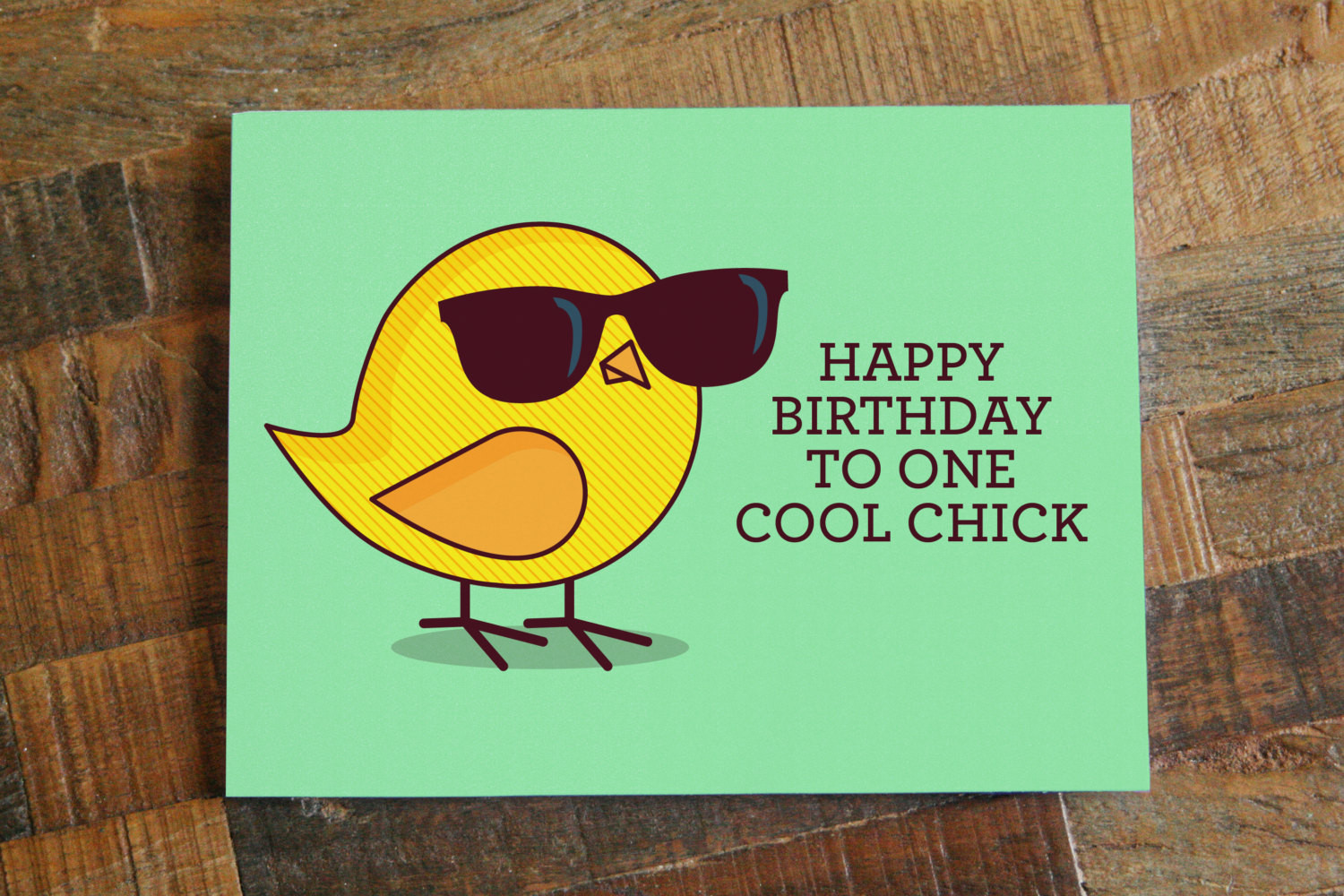 """Best ideas about Happy Birthday Funny Woman . Save or Pin Funny Birthday Card For Her """"Happy Birthday to e Cool Now."""