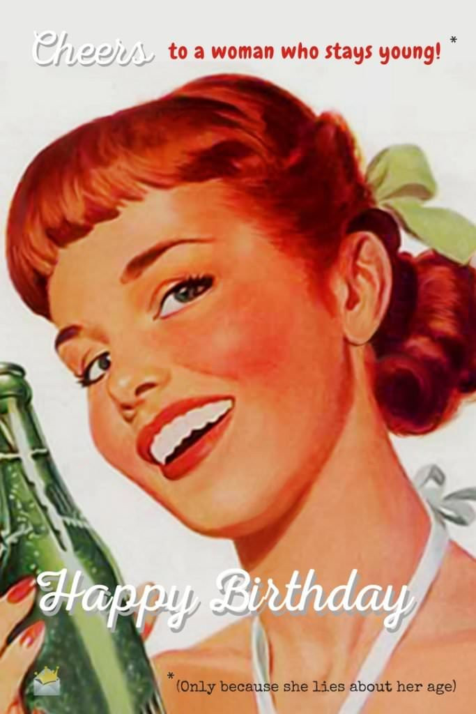 Best ideas about Happy Birthday Funny Woman . Save or Pin 250 Funny Birthday Wishes that Will Surely Make Them Smile Now.