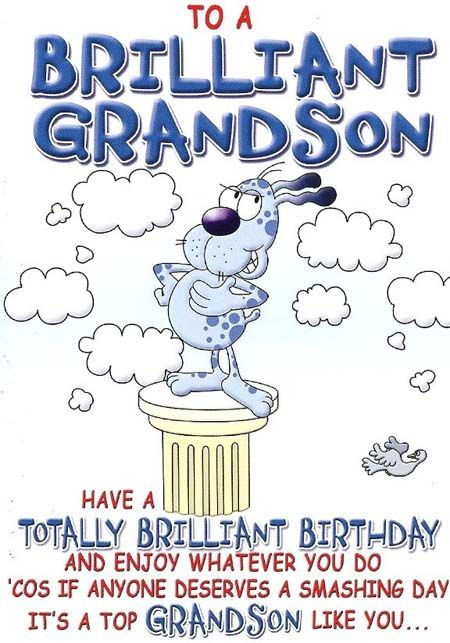 Best ideas about Happy Birthday Grandson Quotes . Save or Pin birthday wishes for teen grandson Now.