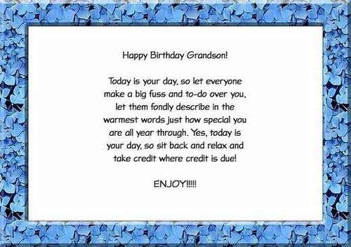 Best ideas about Happy Birthday Grandson Quotes . Save or Pin 35 Happy Birthday Grandson Wishes Now.