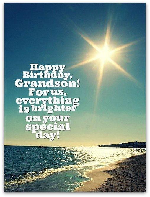 Best ideas about Happy Birthday Grandson Quotes . Save or Pin Grandson Quotes Grandson Sayings Now.