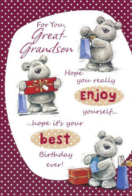 Best ideas about Happy Birthday Grandson Quotes . Save or Pin happy birthday great grandson greetings for Now.
