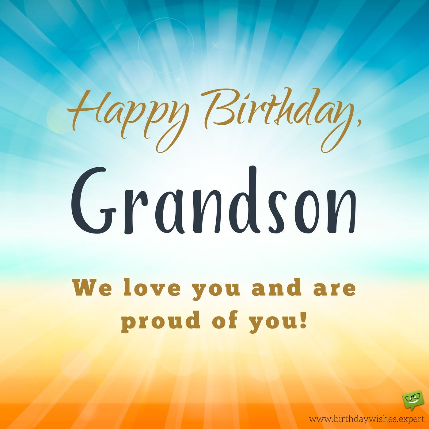 Best ideas about Happy Birthday Grandson Quotes . Save or Pin From your Hi Tech Grandma and Grandpa Birthday Wishes for Now.