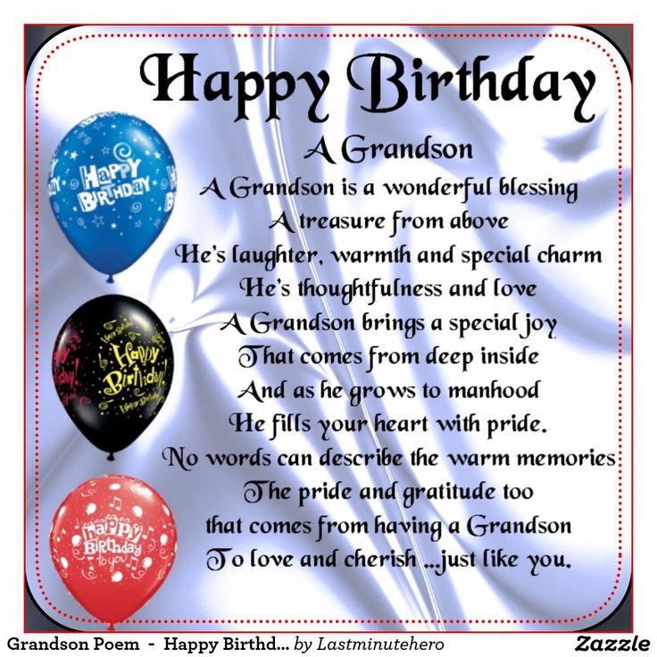 Best ideas about Happy Birthday Grandson Quotes . Save or Pin Pin by mary mata on BIRTHDAY DAY CARDS Now.