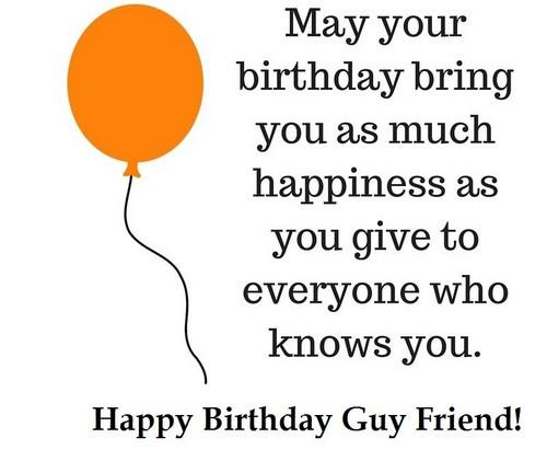 Best ideas about Happy Birthday Guy Friend Funny . Save or Pin 35 Happy Birthday Guy Friend Wishes Now.