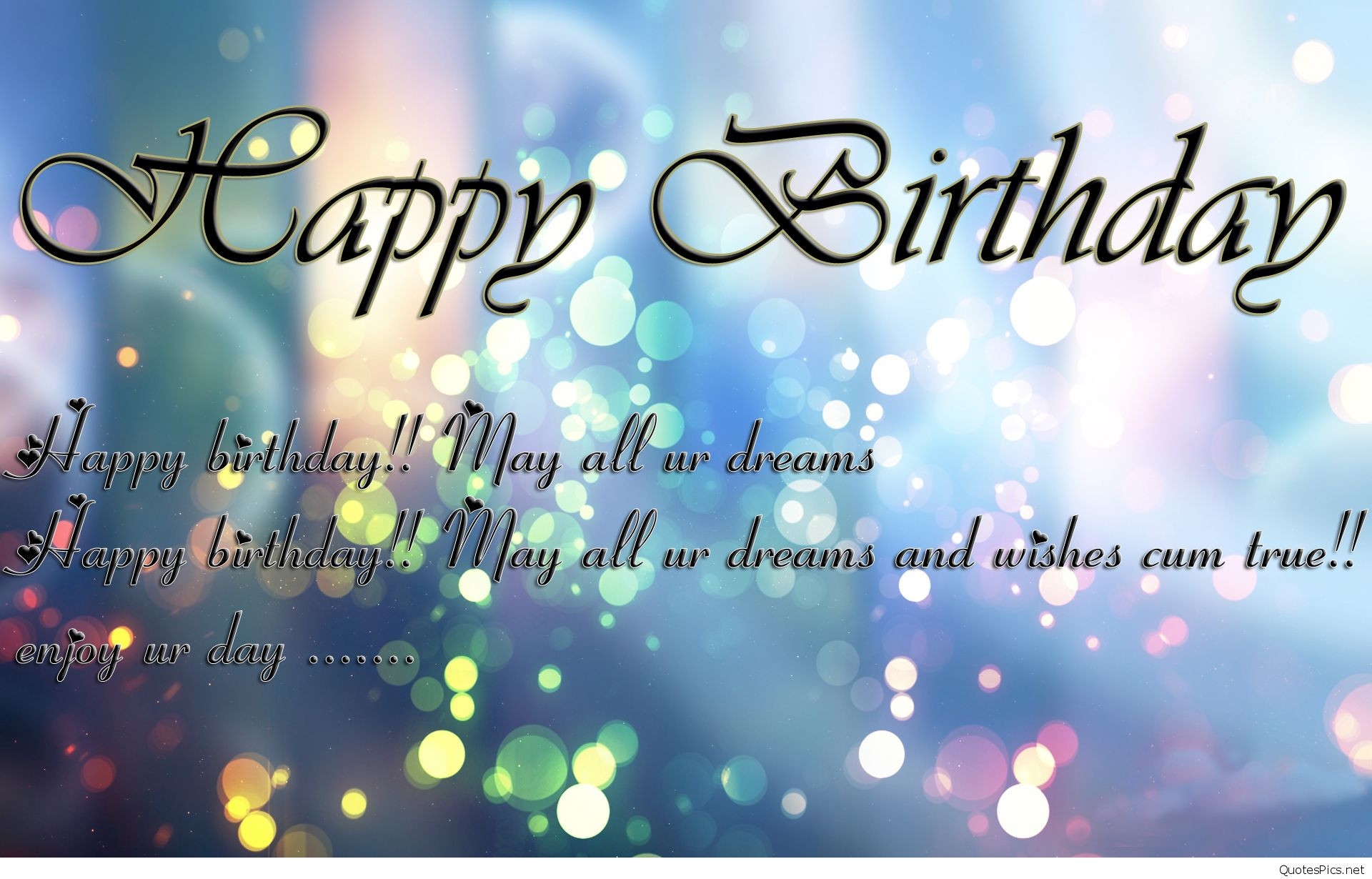 Best ideas about Happy Birthday Image Quotes . Save or Pin Amazing birthday wishes cards and wallpapers hd Now.