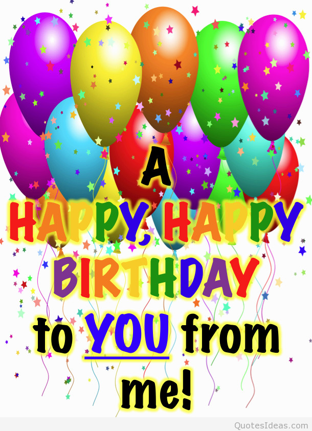 Best ideas about Happy Birthday Image Quotes . Save or Pin Happy Birthday Sayings Now.