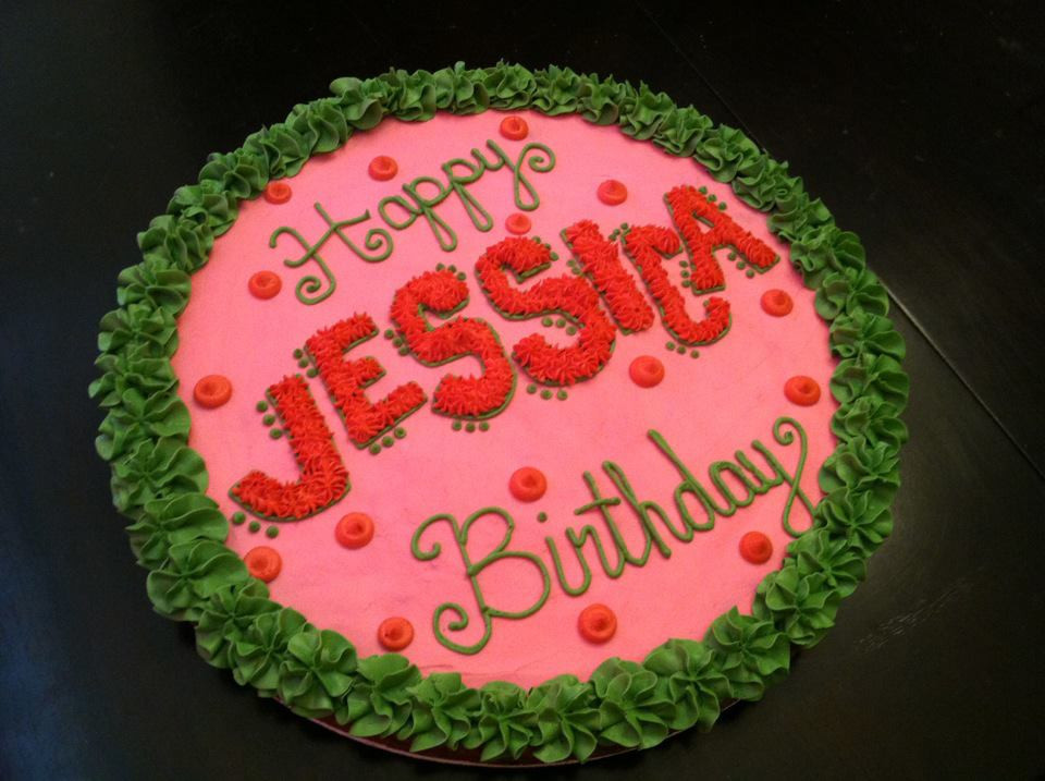 Best ideas about Happy Birthday Jessica Cake . Save or Pin Sweet Treats by Susan January 2012 Now.