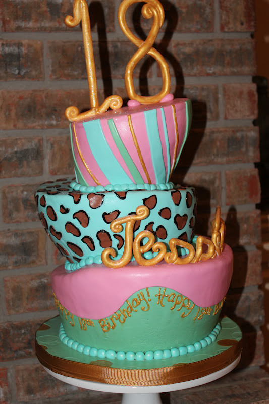 Best ideas about Happy Birthday Jessica Cake . Save or Pin 18th Topsy Turvy Birthday Cake Now.
