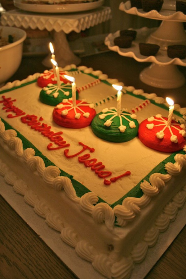 Best ideas about Happy Birthday Jesus Cake . Save or Pin 13 Christmas Traditions It s Not Too Late To Start Now.