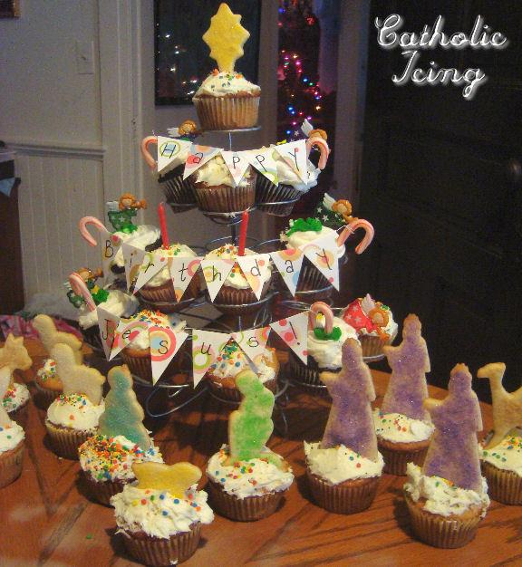 Best ideas about Happy Birthday Jesus Cake . Save or Pin Happy Birthday Jesus Cake with Nativity Cookies Now.