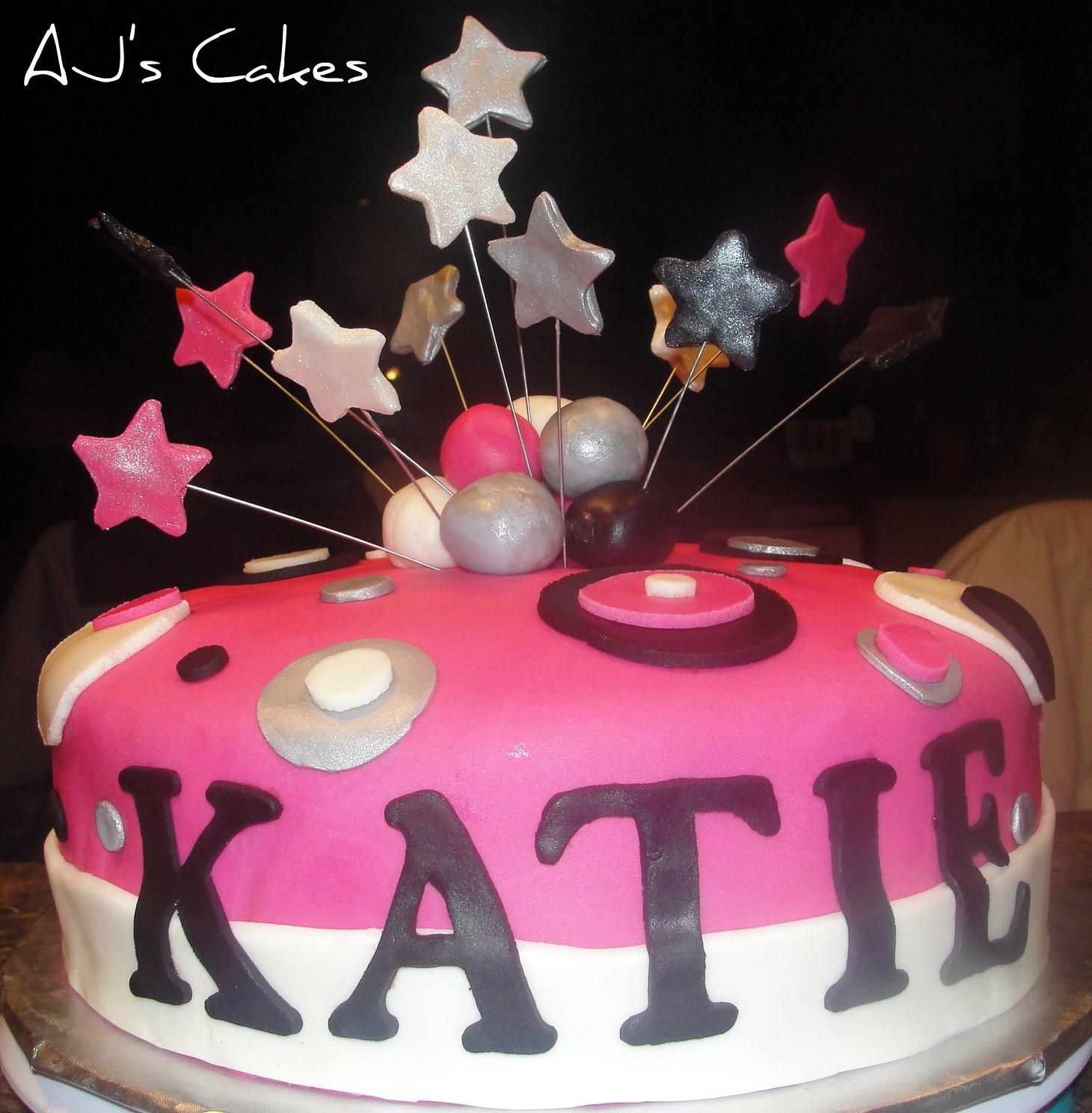 Best ideas about Happy Birthday Katie Cake . Save or Pin AJ s Cakes Katie s Birthday Cake Now.