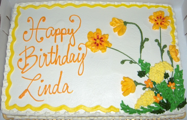 Best ideas about Happy Birthday Linda Cake . Save or Pin Gourmet Touch Bakery Gallery Specialty Birthday Now.
