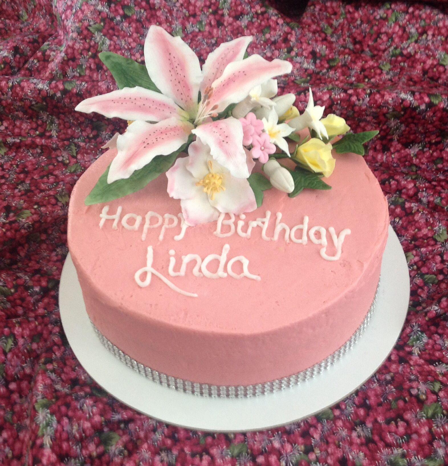 Best ideas about Happy Birthday Linda Cake . Save or Pin Happy Birthday Linda flower & paper crafting Now.