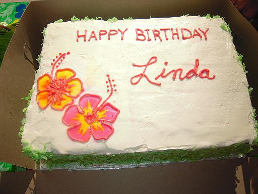 Best ideas about Happy Birthday Linda Cake . Save or Pin Happy Birthday Linda Now.