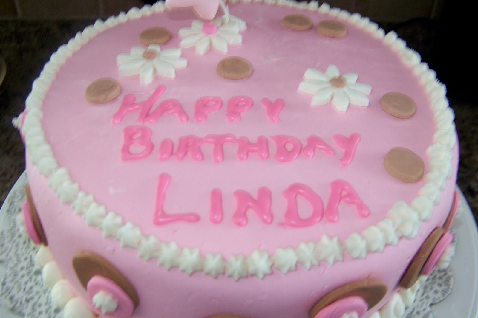 Best ideas about Happy Birthday Linda Cake . Save or Pin katykakes CAKES AND DESSERTS by MOI AND THE Now.