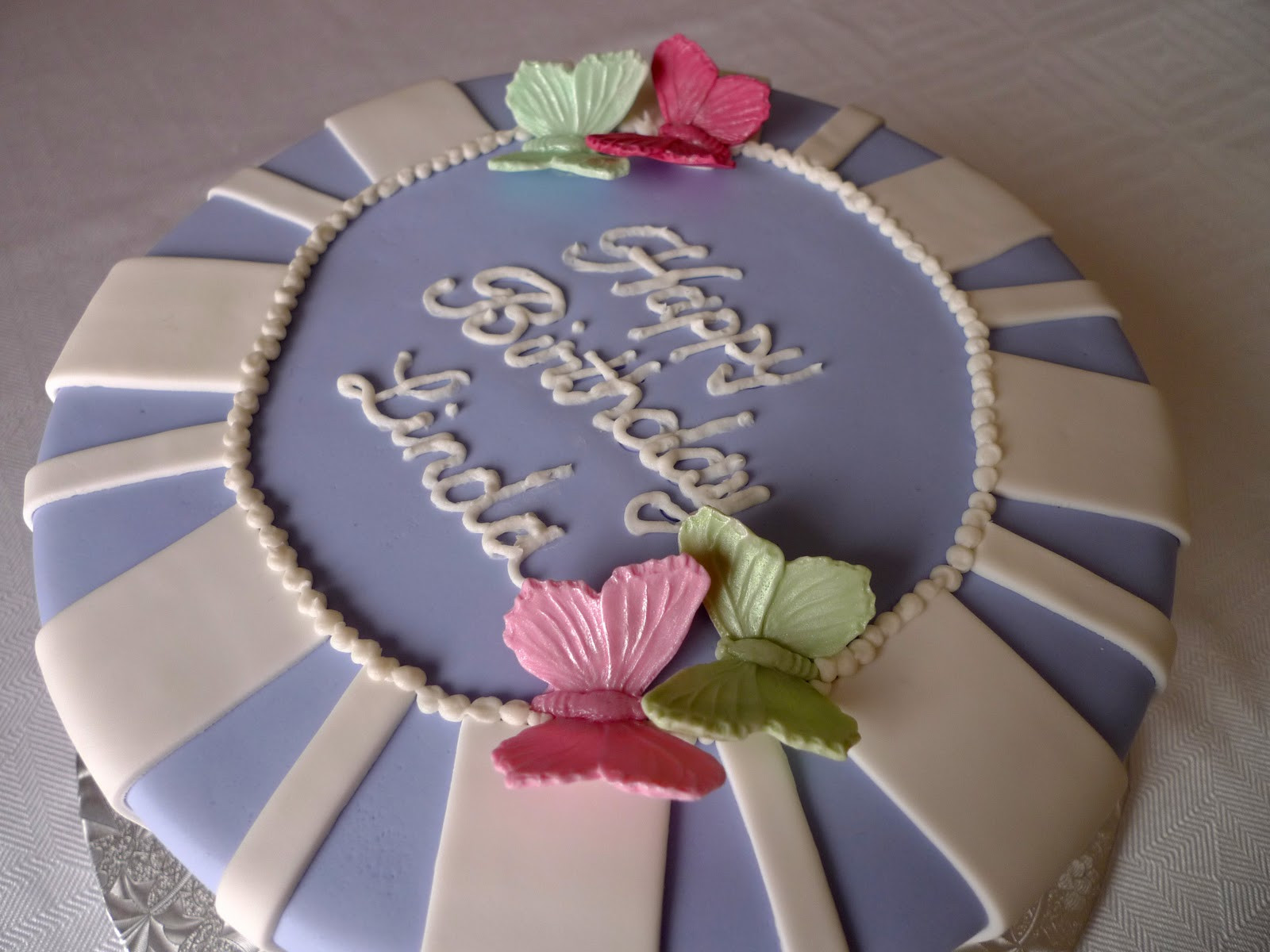 Best ideas about Happy Birthday Linda Cake . Save or Pin Cakebee Signature Stripe Birthday cakes Now.