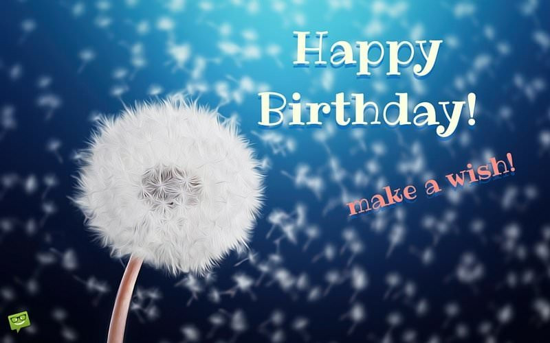 Best ideas about Happy Birthday Make A Wish . Save or Pin Happy Birthday Now.