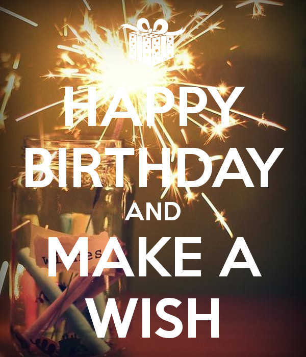 Best ideas about Happy Birthday Make A Wish . Save or Pin HAPPY BIRTHDAY AND MAKE A WISH Poster severine Now.
