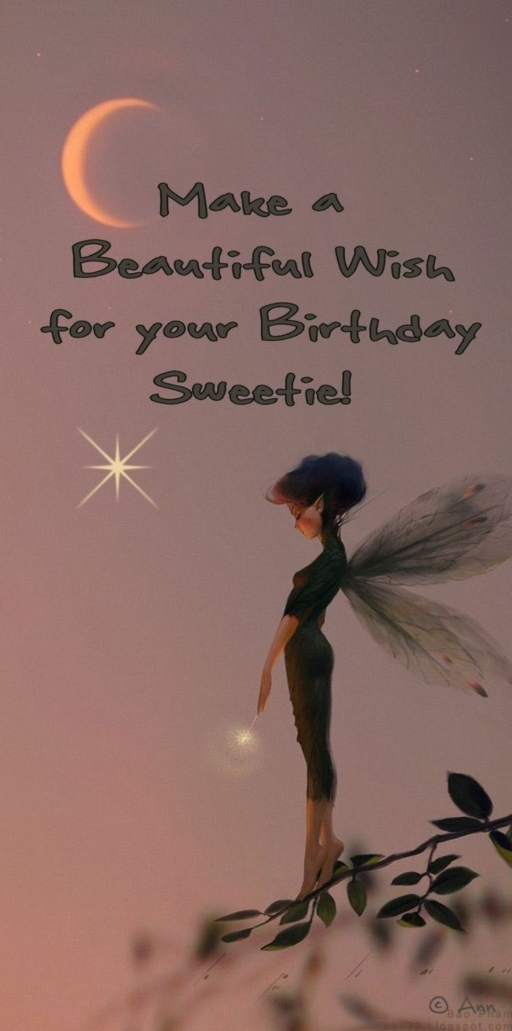 Best ideas about Happy Birthday Make A Wish . Save or Pin ┌iiiii┐ Happy Birthday Make a Wish for yo… Now.