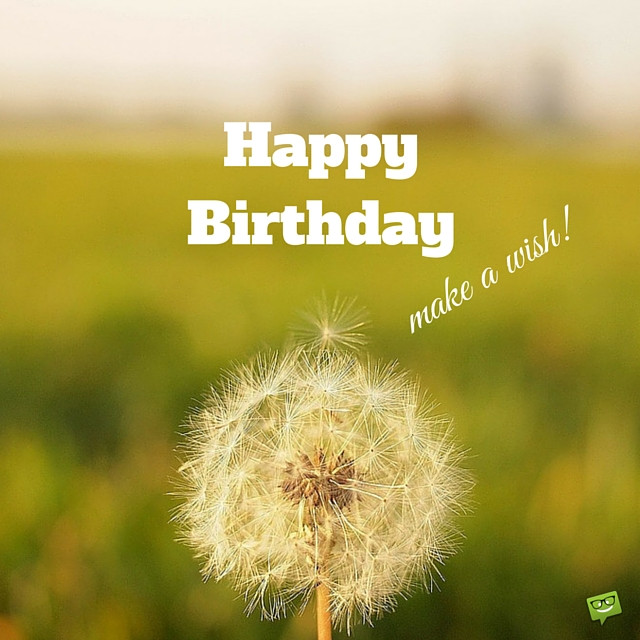 Best ideas about Happy Birthday Make A Wish . Save or Pin Happy Birthday Wishes Page 33 Now.