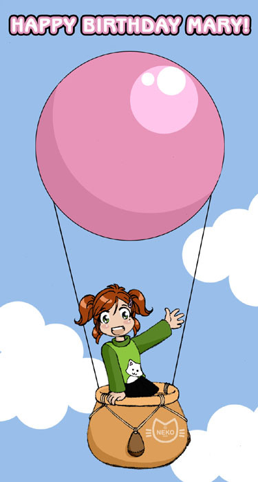 Best ideas about Happy Birthday Mary Funny . Save or Pin Happy Birthday Mary by Neko Animel on DeviantArt Now.