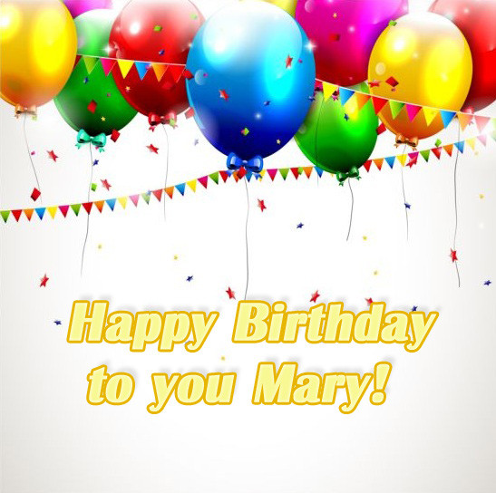 Best ideas about Happy Birthday Mary Funny . Save or Pin Happy Birthday Mary pictures congratulations Now.