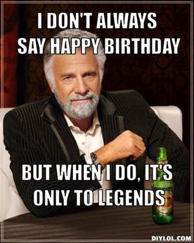 Best ideas about Happy Birthday Memes Funny . Save or Pin 20 Outrageously Hilarious Birthday Memes [Volume 1 Now.