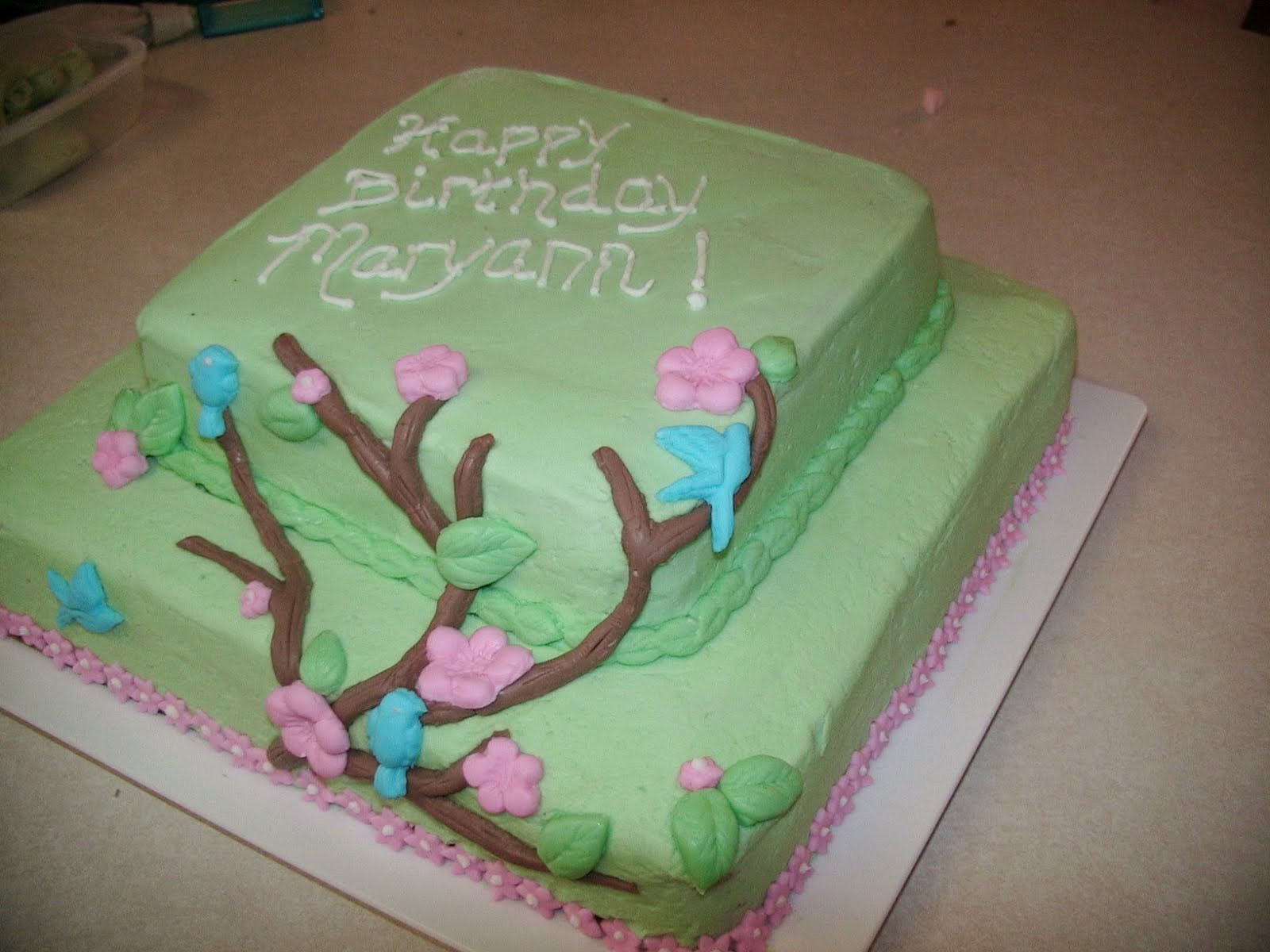 Best ideas about Happy Birthday Mom Cake . Save or Pin Cakes By Melina Happy Birthday Mom Cake Now.