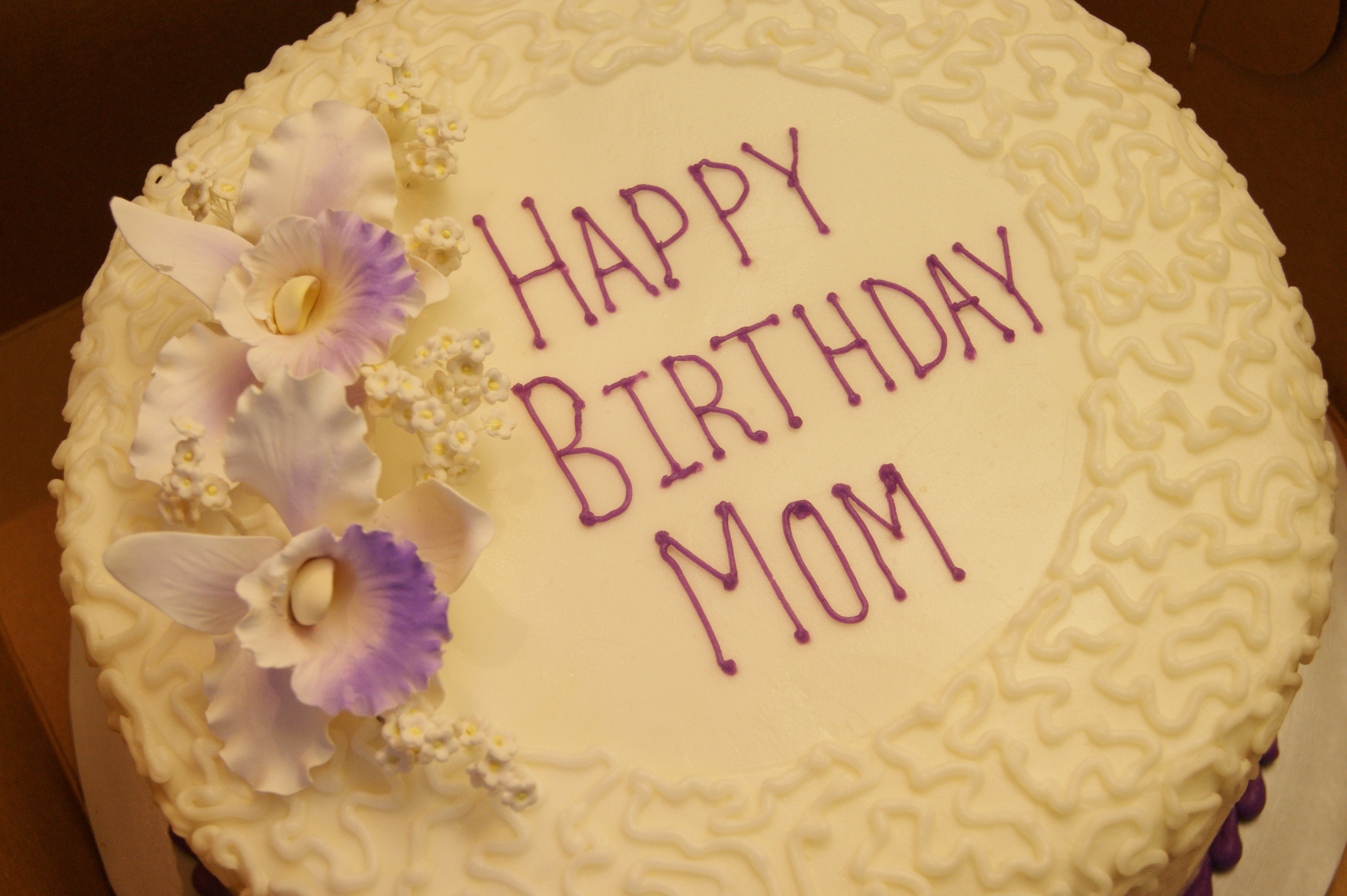 Best ideas about Happy Birthday Mom Cake . Save or Pin Birthday Cake for Mom Rebekahs Custom Bakery in Granbury TX Now.