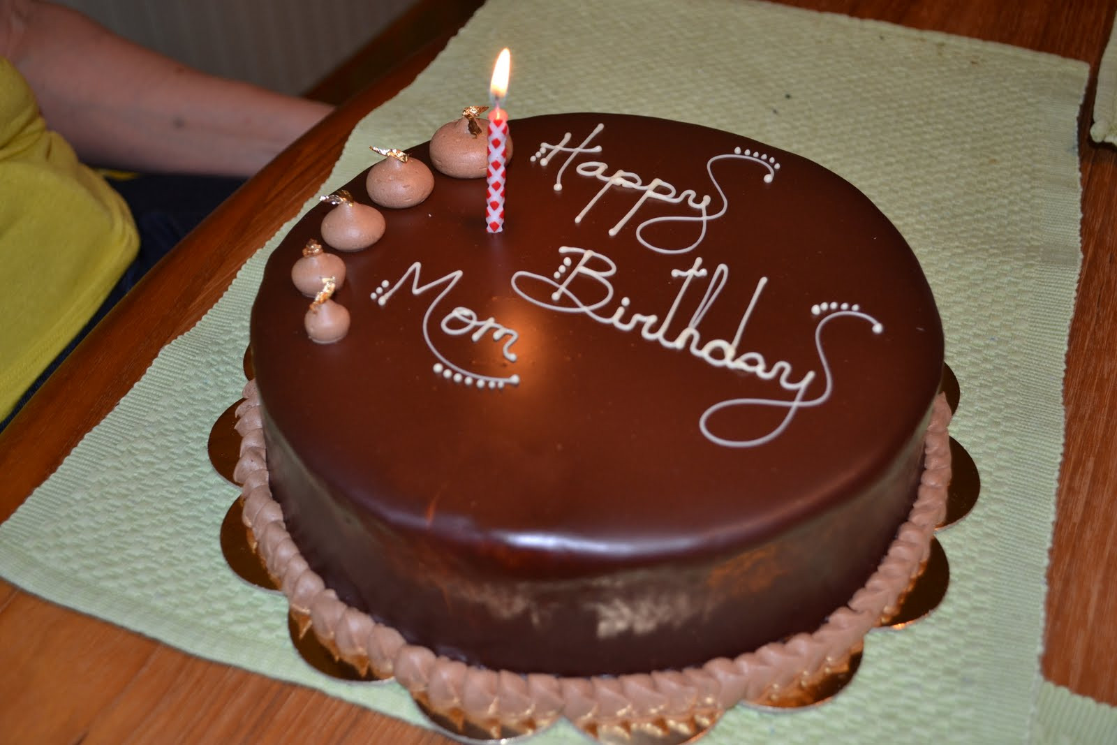 Best ideas about Happy Birthday Mom Cake . Save or Pin Chomp Happy Birthday Mom Now.