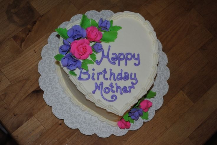 Best ideas about Happy Birthday Mom Cake . Save or Pin Best 20 Heart shaped cakes ideas on Pinterest Now.