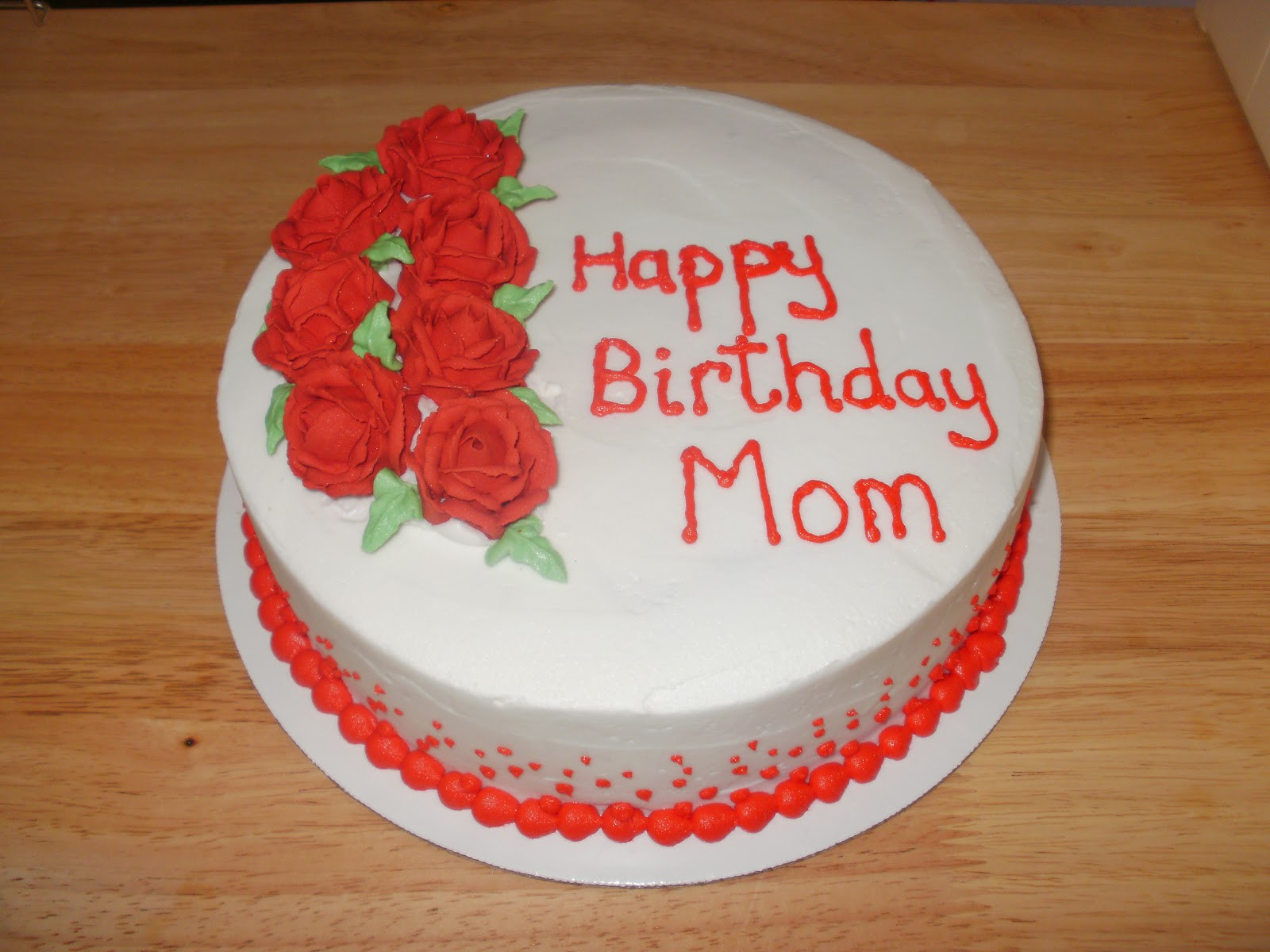 Best ideas about Happy Birthday Mom Cake . Save or Pin The Many Adventures of a Sunflour Cake Mom Happy Birthday Now.