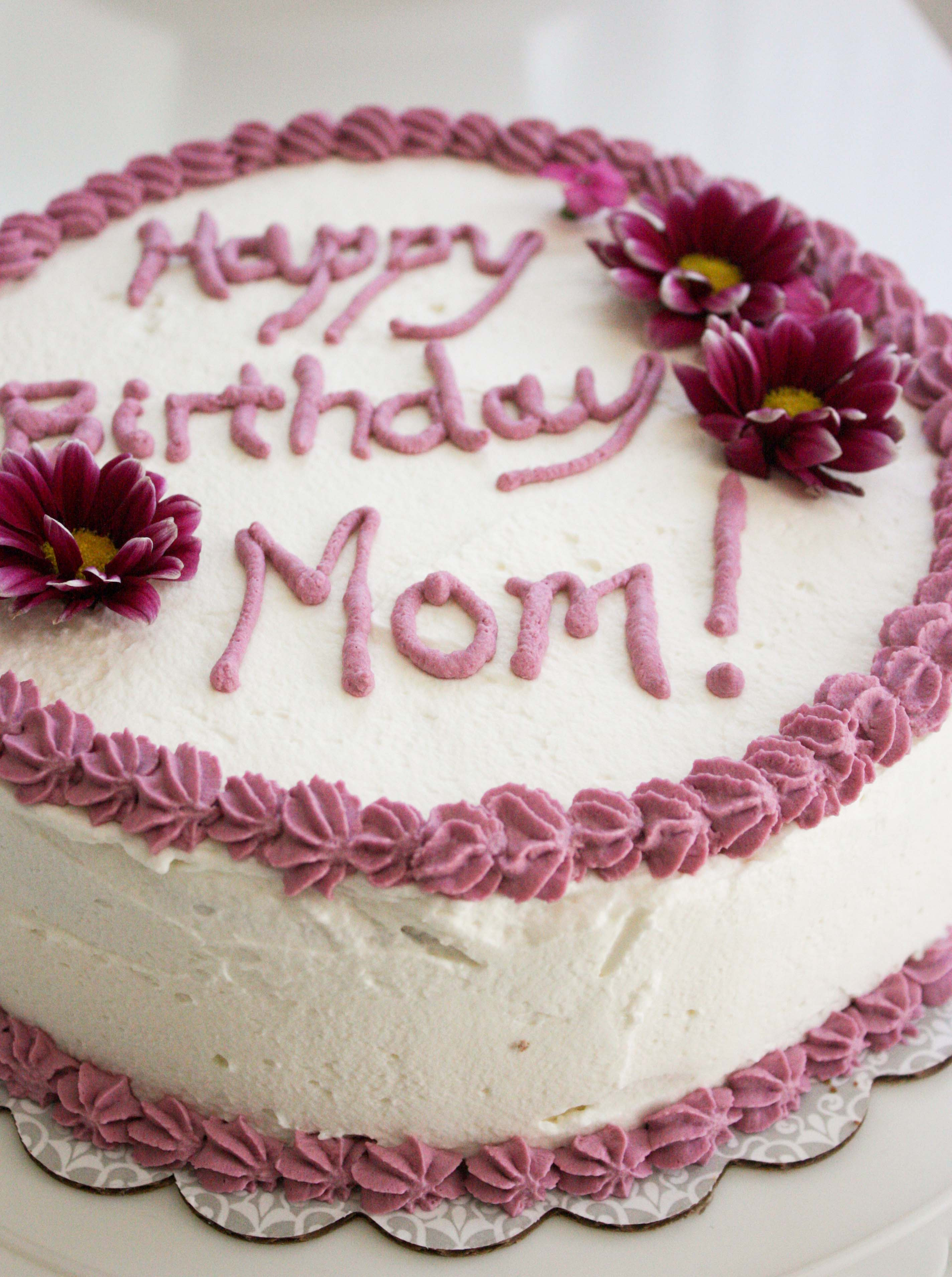 Best ideas about Happy Birthday Mom Cake . Save or Pin Banana Birthday Cake for My Mom – Foodologie Now.