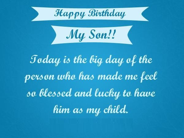 Best ideas about Happy Birthday Mom Quotes From Son . Save or Pin Happy Birthday Son quotes images pictures messages Now.