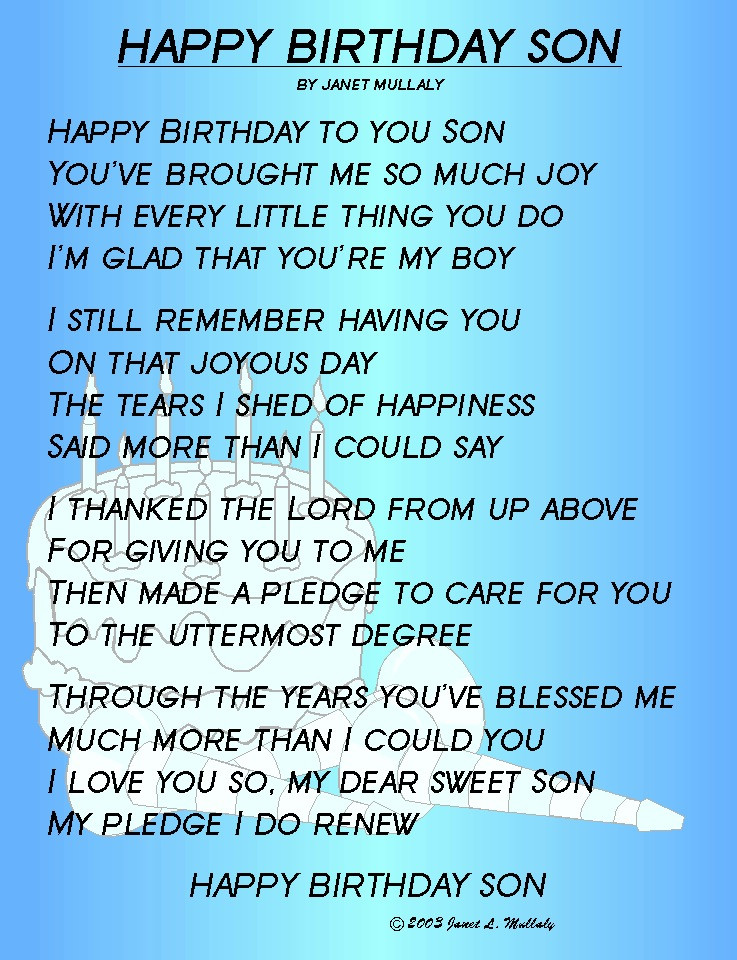 Best ideas about Happy Birthday Mom Quotes From Son . Save or Pin Happy Birthday Quotes For Son Now.