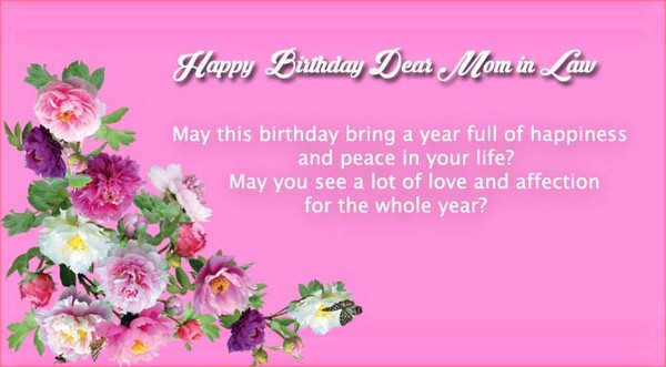 Best ideas about Happy Birthday Mother In Law Funny . Save or Pin 47 Happy Birthday Mother in Law Quotes My Happy Birthday Now.