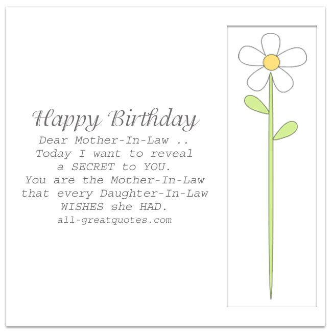 Best ideas about Happy Birthday Mother In Law Funny . Save or Pin Happy Birthday Dear Mother In Law Now.
