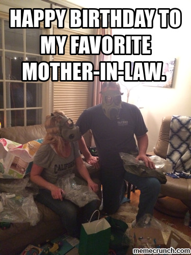 Best ideas about Happy Birthday Mother In Law Funny . Save or Pin happy birthday to my favorite mother in law Now.